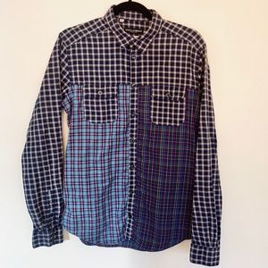 Dolce & Gabbana Multi-Check Cotton Button-Down